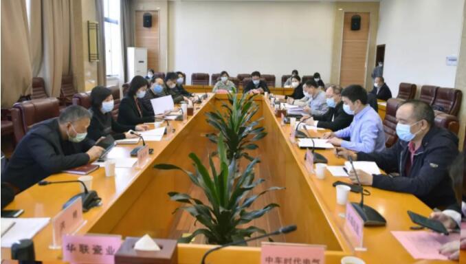 省商务厅稳外贸督导服务工作株洲座谈会日前召开